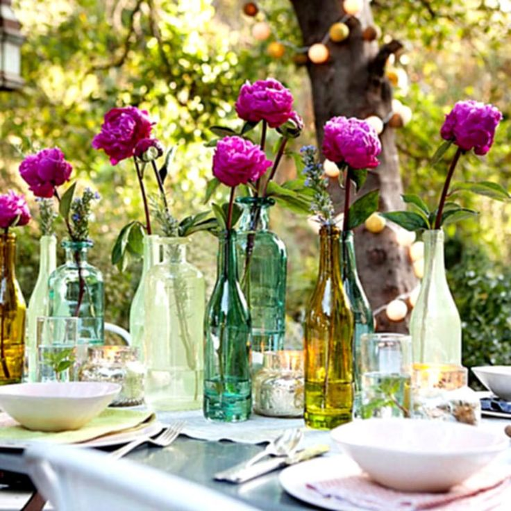 Table Decoration Ideas For Retirement Party retirement party decorations cylinders filler with loemons others wrapped with paper and filled with Garden Themed Retirement Party Retirement Party Decorationsretirement Partiesevent Planningfloral Arrangementstablescapescenterpieces
