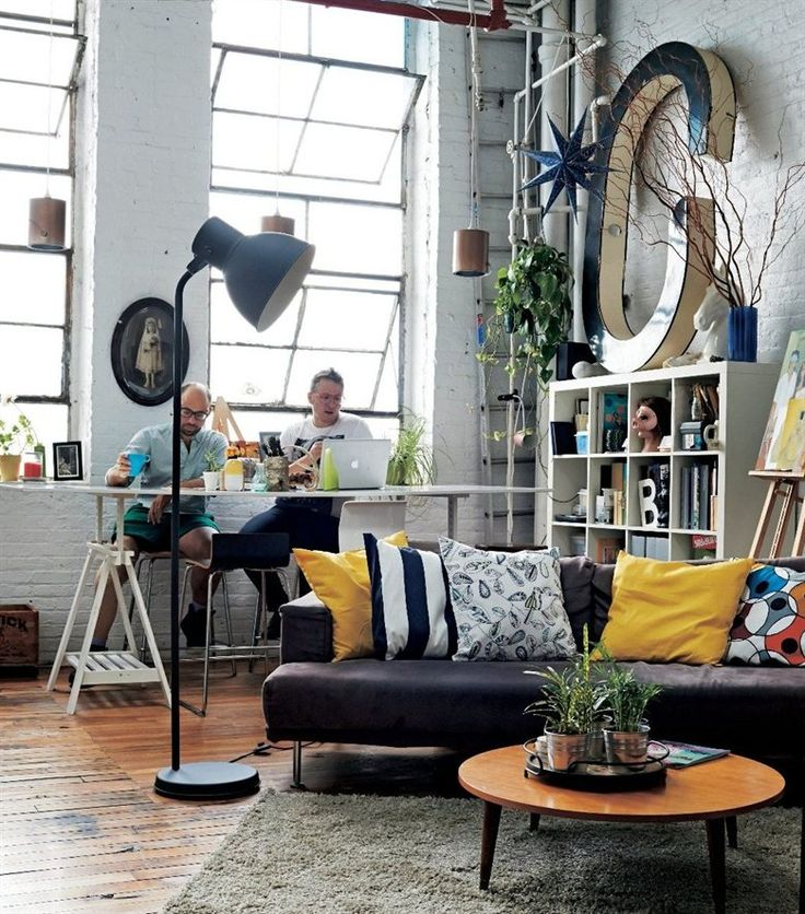 Welcome to Ryan and Tony's  converted warehouse apartment | See how they've used their space creatively in the June issue of live