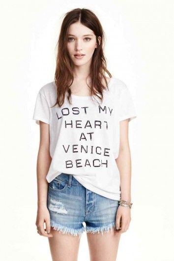 H&M - Shorts in jeans consumati
