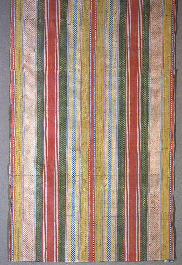 Spanish stripe, 17th-18th century