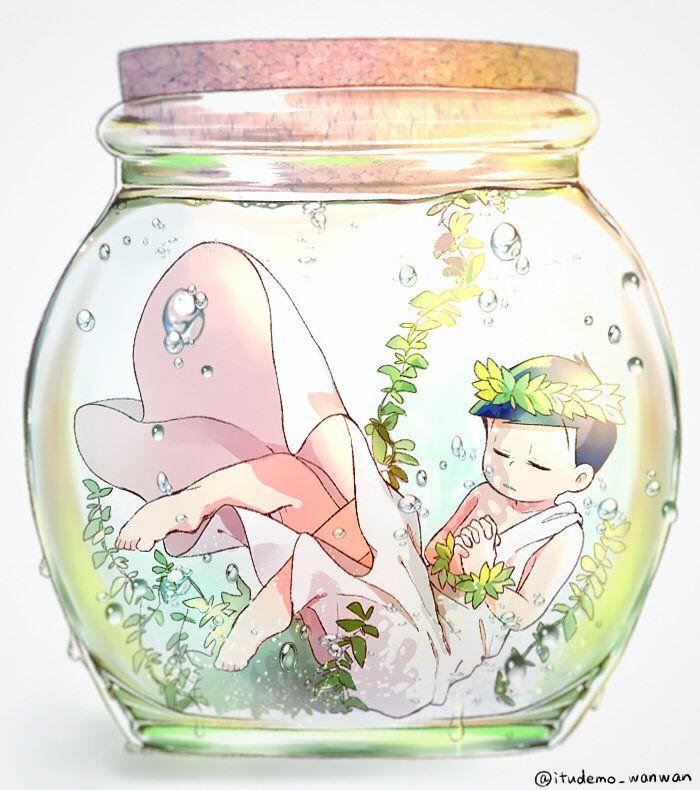 Choromatsu-megami in a bottle~ (Religion-matsu)