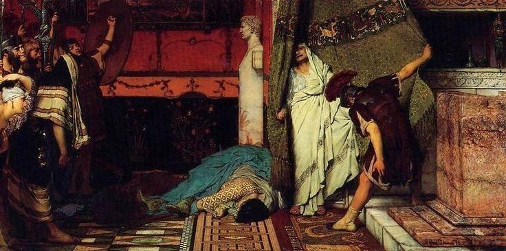 Sir Lawrence Alma Tadema - Claudius