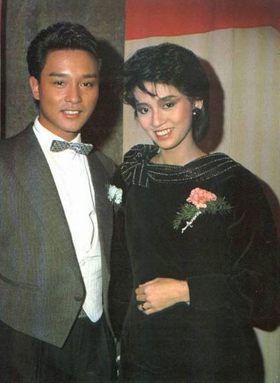 Roast Pork Sliced From A Rusty Cleaver: Old Photos of Leslie Cheung & Anita Mui
