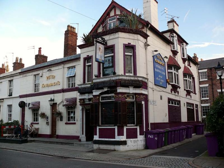 Peter Kavanagh's, Liverpool, 2 mins walk from my old flat, and I never found it!