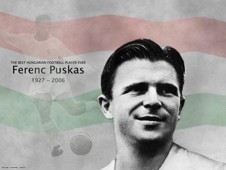 Ferenc Puskas - Hungría: