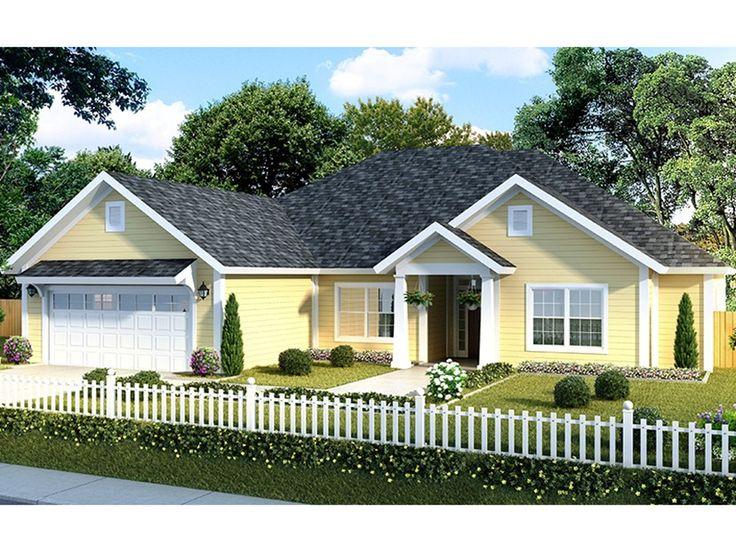 38 best house plans images on pinterest square feet for Craftsman house plans 2000 square feet
