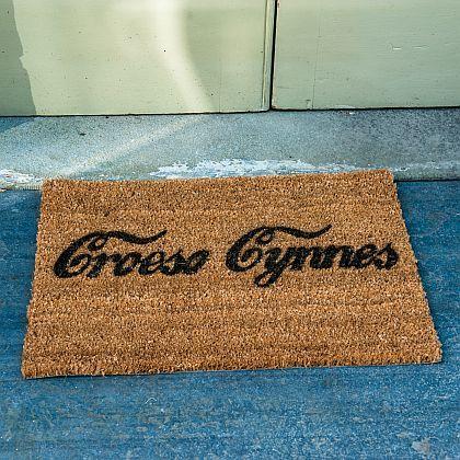 Croeso Cynnes Door Mat