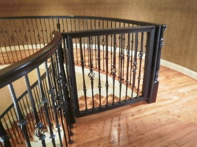 Custom Baby Gate By Precious Protectors In Houston