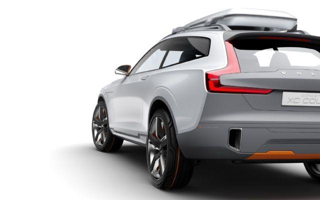 Volvo XC Coupe Concept rear three quarter 3 2