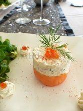 Découvrez la recette Bavarois de saumon fumé au chèvre frais. Une recette avec du fromage de chèvre proposée par Soignon !