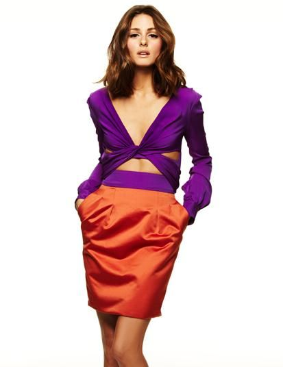 Orange & purple. Gotta try that.