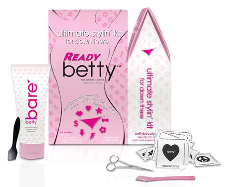 Tired of ingrown hairs or bumps? Get yourself Ready betty! Removes hair deep in follicles with no irritations.