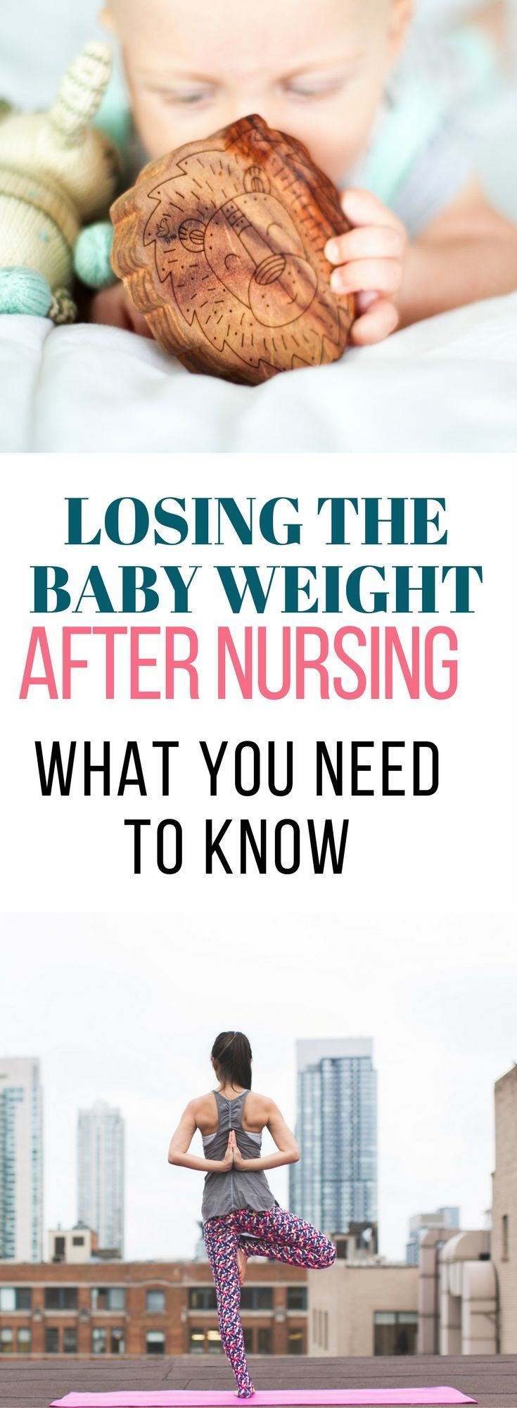 Losing the baby weight after nursing is a whole different story. Once you've weaned your baby, there are some important things you need to know to keep losing the baby weight.