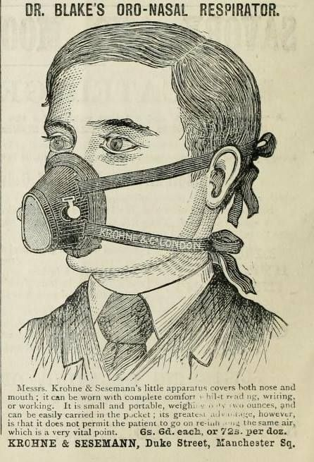 This Bane costume from 1822. | 25 Health Products You'll Be Glad You Don't See Today