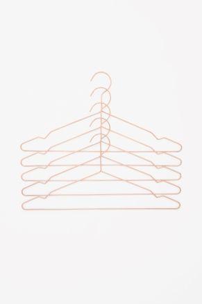 HAY set of 5 metal hangers