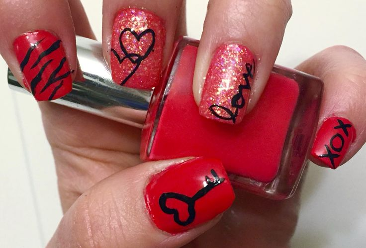 valentine ideas for nails
