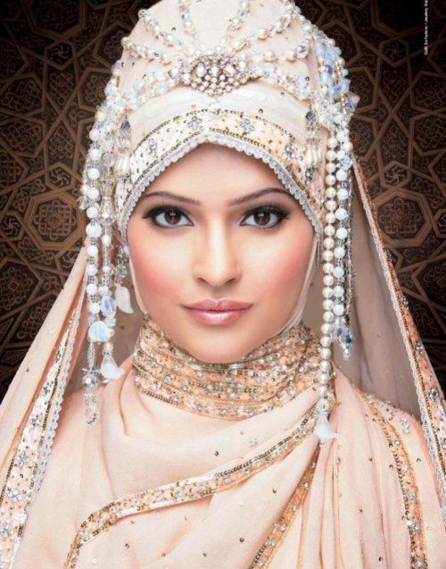 Wedding hijaab  -  for that 'once in a lifetime' occasion