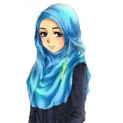 Foto Kartun Muslimah Cantik Terbaru