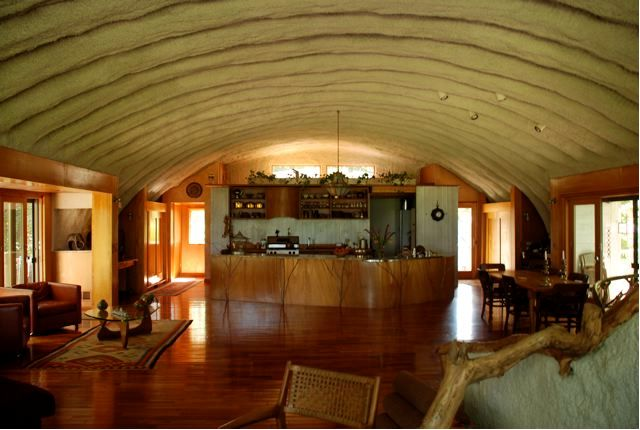 143 best quonset hut homes images on pinterest quonset for Prefab interior arches