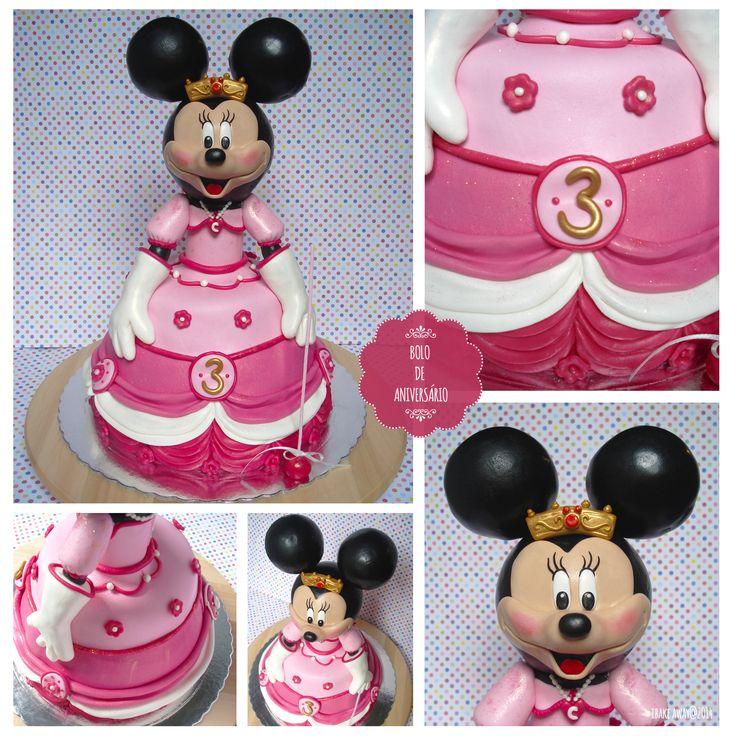 Bolo da Minnie // Minnie Cake