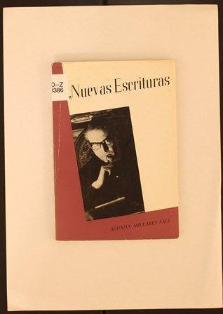 Nuevas escrituras / Agustín Millares Sall. 1964. http://absysnetweb.bbtk.ull.es/cgi-bin/abnetopac01?TITN=460830
