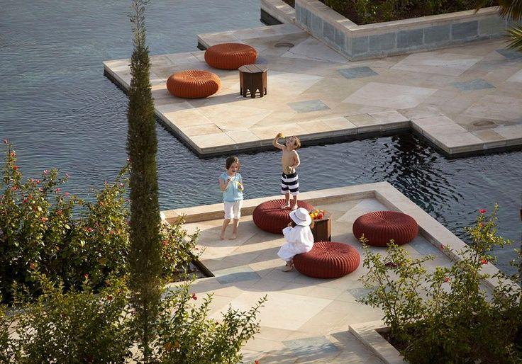 The family pool of Four Seasons Resort Marrakech