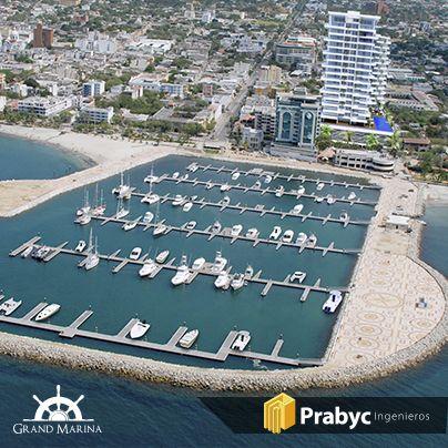 ¿Sabías que puedes parquear tu #yate en la #bahía frente a tu #apartamento en Grand Marina?  Descubre todos los lujos que siempre soñaste para vivir en #SantaMarta en www.grandmarina.com.co