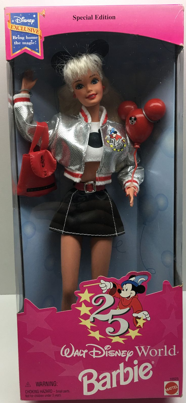(TAS033330) - 1994 Mattel 25th Anniversary Special Edition Walt Disney Barbie