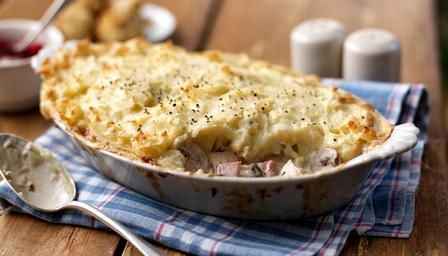Turkey and ham pie, what could be better than turning turkey or chicken leftovers into a pie...nice recipe.