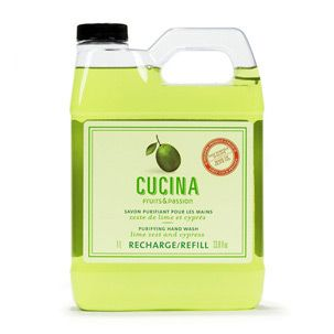 Hand soap refill Lime Zest and Cypress