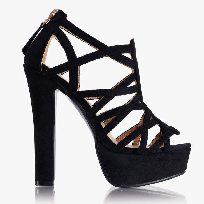 Sandały na słupku Queen Black Su Te wyjątkowe, przyciągające uwagę sandały na słupku muszą być Twoje! Paseczki wokół stopy oraz słupek zamiast szpilki sprawiają, że staną się Twoją najwygodniejszą i ulubioną parą obuwia.