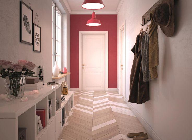 Według feng shui drzwi wejściowe i przedpokój to najważniejsze miejsce w domu. Nie zapominajcie zatem o odpowiedniej aranżacji tego pomieszczenia. Żeby efekt utrzymał się jak najdłużej, postawmy na farby Beckers Designer Kitchen & Bathroom, polecane do powierzchni szczególnie narażonych na zabrudzenia.