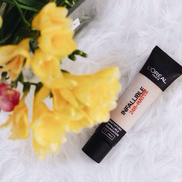 #l'oreal #foundation #review