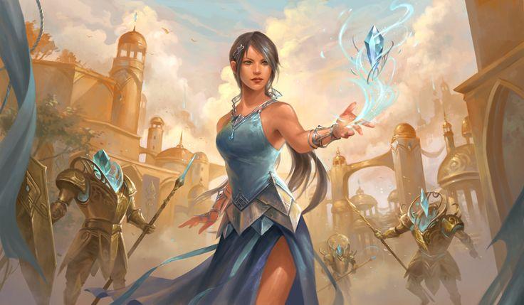 Blue Mage by sandara.deviantart.com on @DeviantArt