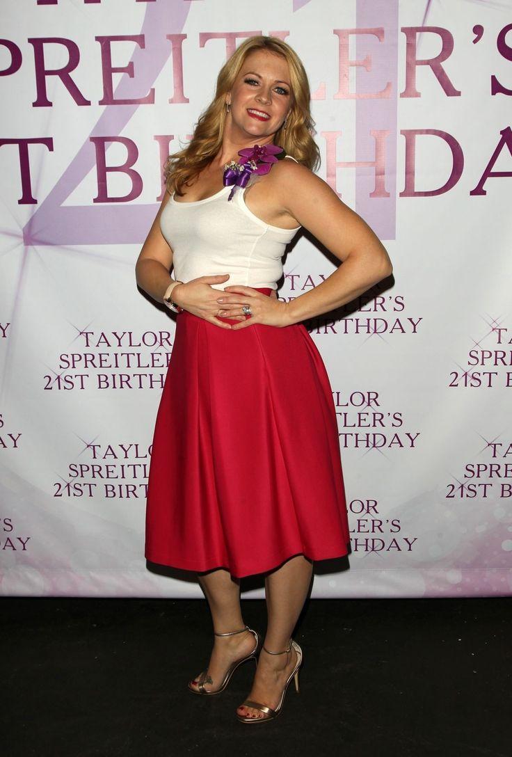 Мелисса Джоан Харт Прибытие в Санкт-Тейлор Спрейтлер день рождения в Студио-Сити