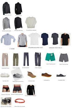minimalist wardrobe for men - Google Search