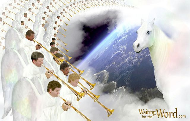 """Second Coming of Jesus! ❤  The purpose of the seven trumpets is to wake up everyone in The World!  All around us are signs that the second coming of Jesus is near! But before He comes again the """"gospel of the kingdom will be preached in all The World!"""" Matthew 24:14"""
