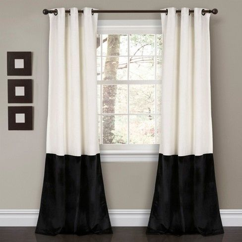 Perfect for any room, our Prima Velvet Color Block curtains offer a classic look with exquisite texture. The classic block design looks great in a bedroom, living room or dining room and works in nearly any design style. Part of the Prima Collection.