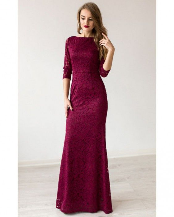 Вечірнє плаття. Кольори марсала 9819a71cbebf6
