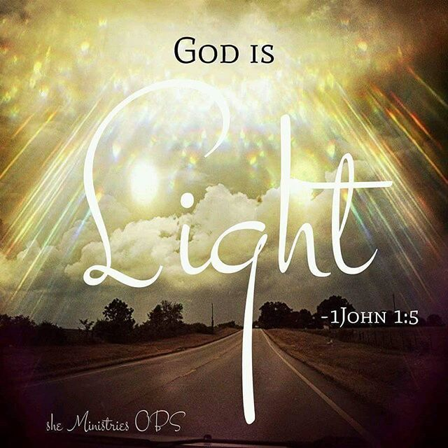 God is light~1John 1:5
