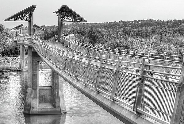 Footbridge over the North Saskatchewan River