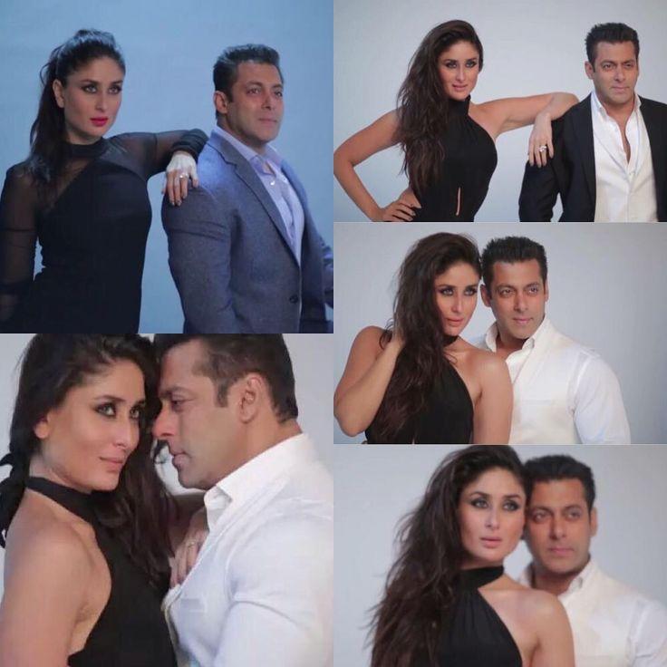 """Behind the scenes for #Filmfare shoot #KareenaKapoor #SalmanKhan #Bollywood #follow #love #happy #smile"" <3"