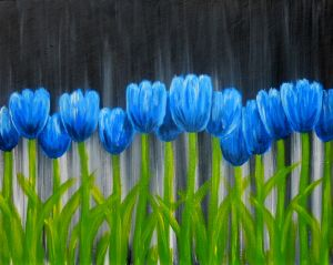 Get event details for Thu Feb 23, 2017 7:30-9:30PM - Tulips in Blue. Join the paint and sip party at this Austin, TX studio.