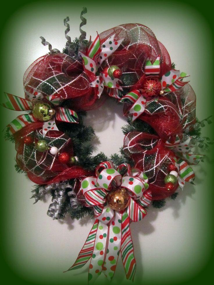 Mesh Wreath ~ Tutorial