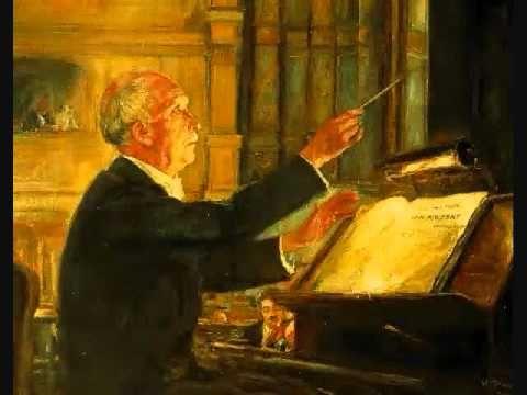 """Richard Strauss conducts """"Eine Alpensymphonie"""""""