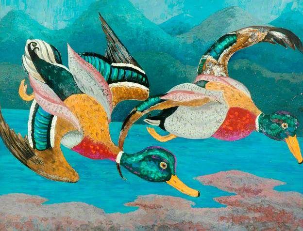 Cedric Lockwood Morris.Ducks