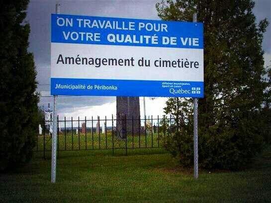 Humour québécois !