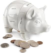 Budget Cut Piggy Bank