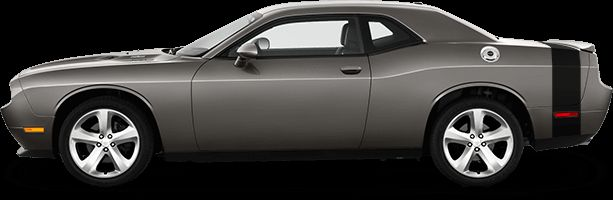 Dodge Challenger 2015 Rear Bumblebee Tail Stripes