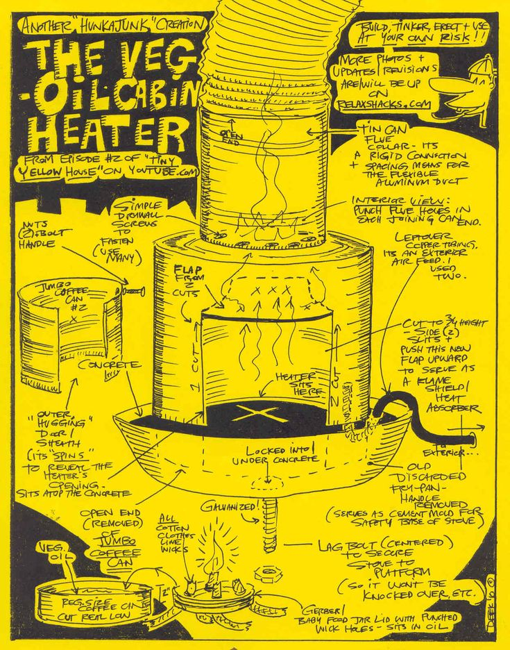 veggie oil heater